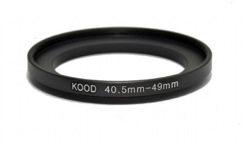 Kood Stepping Ring 40.5mm-49mm Step Up Ring 40.5 - 49mm 40.5mm to 49mm Ring UK